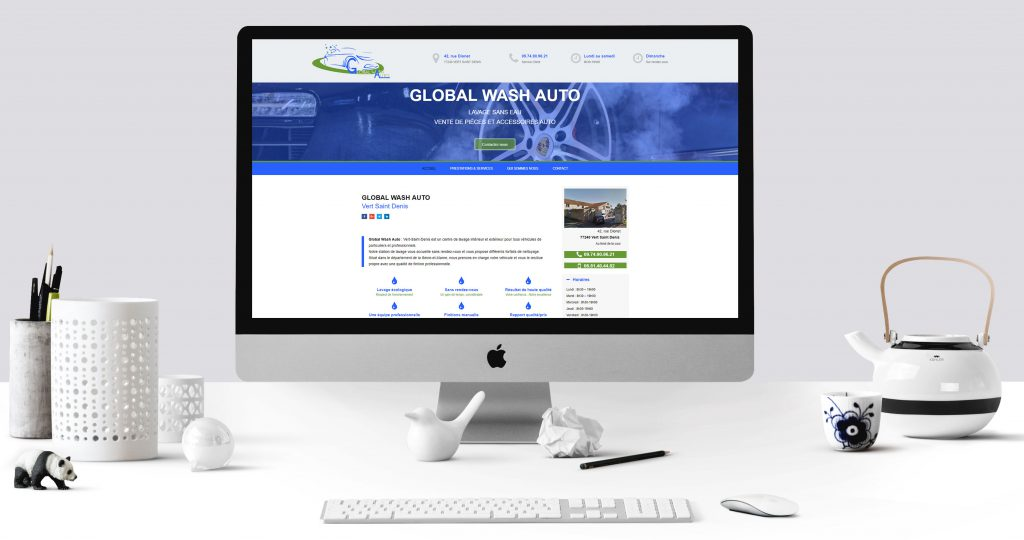 SITE WEB - GLOBAL WASH AUTO