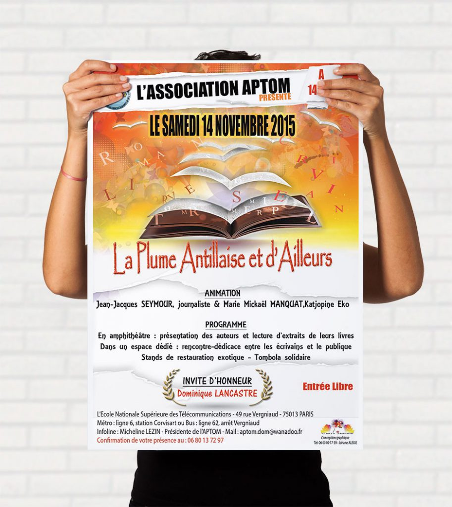 ASSOCIATION LA PLUME ANTILLAISE-flyer