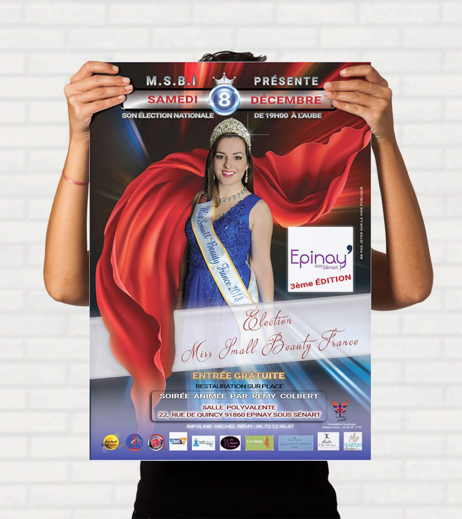 MISS SMALL BEAUTY 2018 -flyer