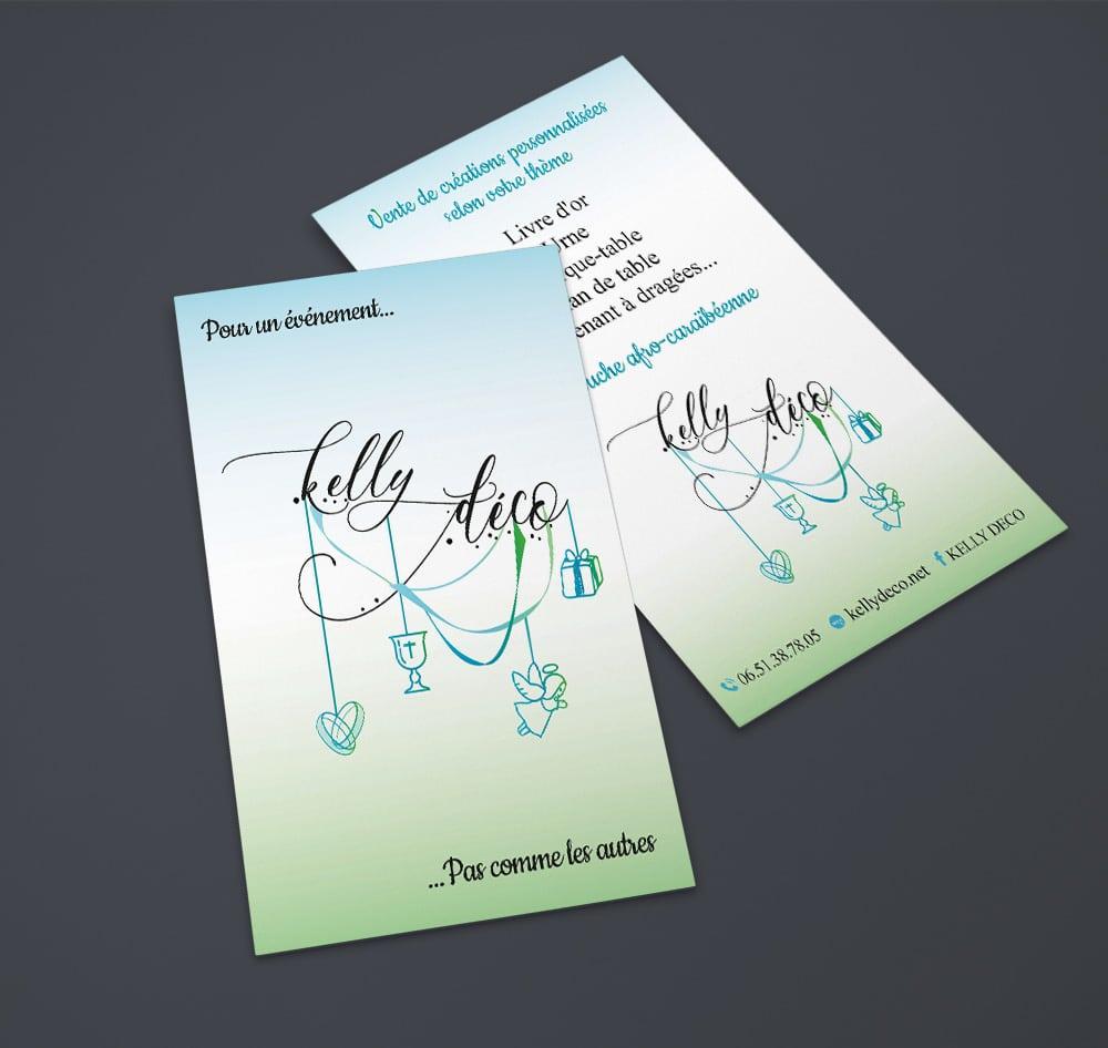 KELLY DECO-carte de visite